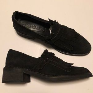 Shoes - Free People + SixtySeven Riders Kilty Brogue